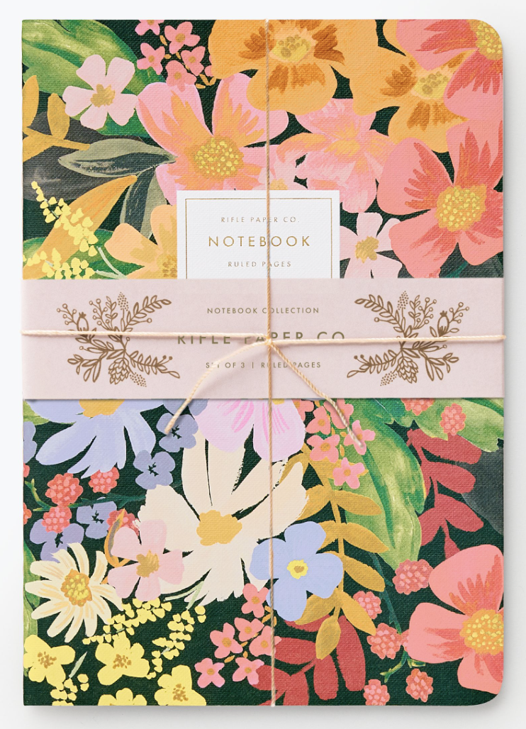 Marguerite Stitched Notebook Set 2