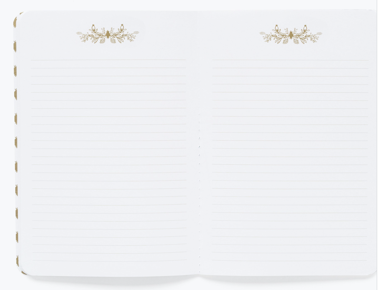 Marguerite Stitched Notebook Set 3