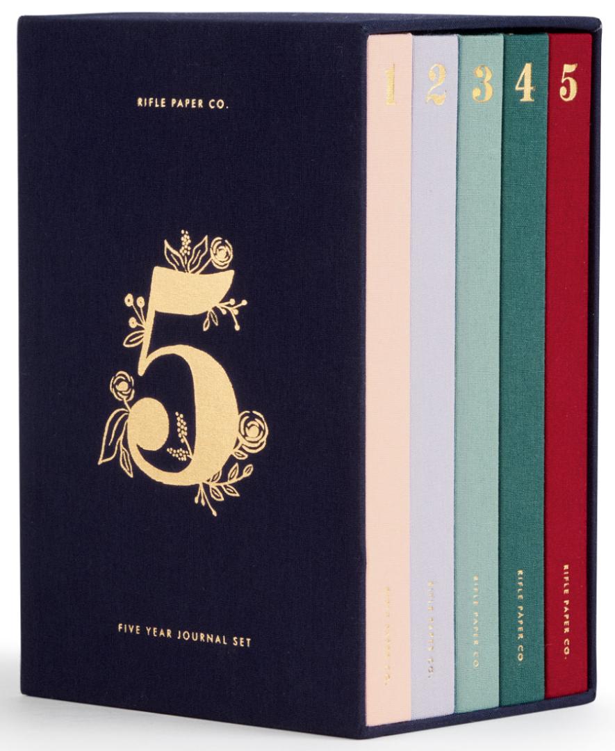 5 Year Keepsake Journal Set