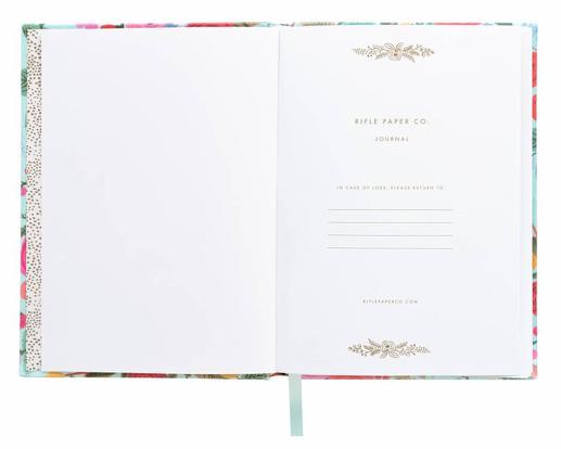 Garden Party Fabric Journal 2