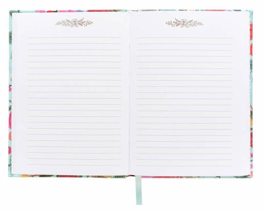 Garden Party Fabric Journal 3