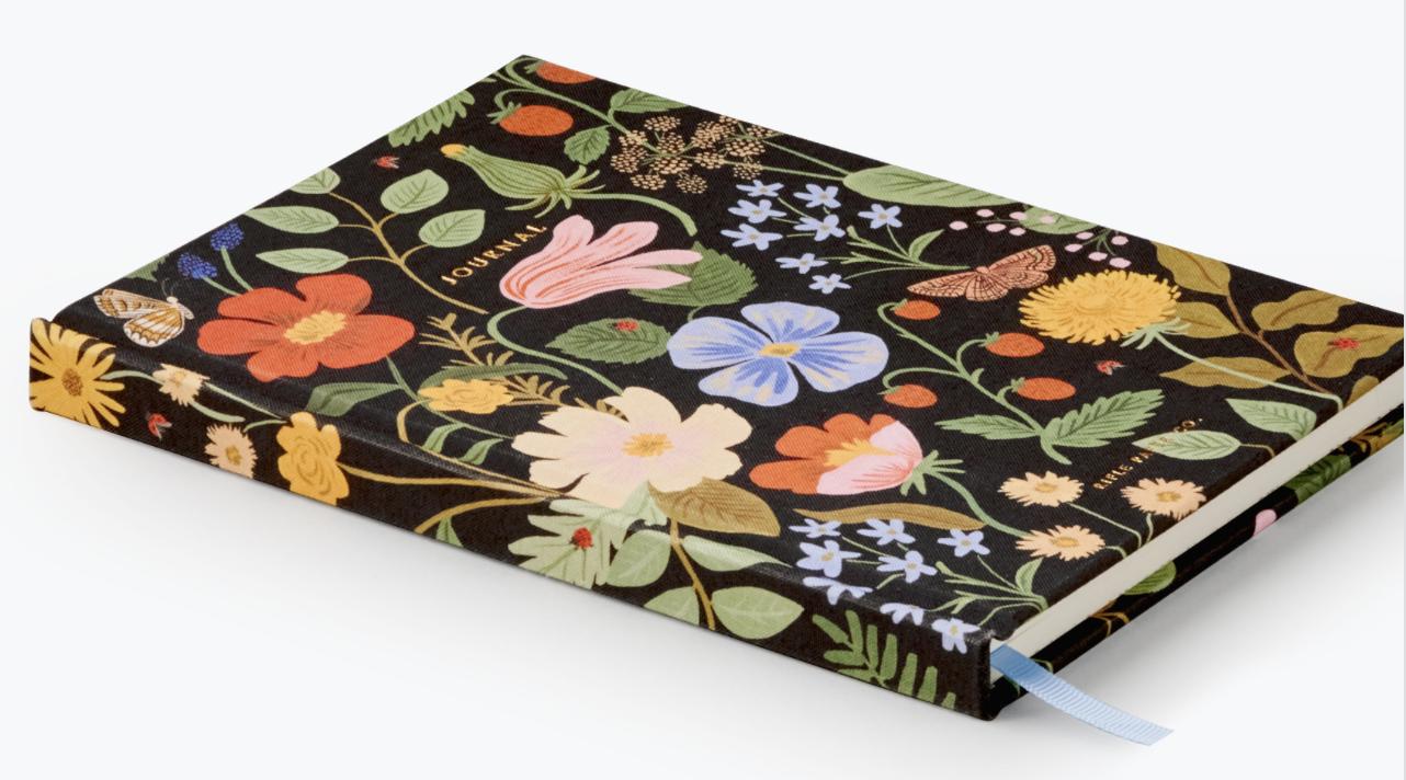 Strawberry Fields Fabric Journal 4