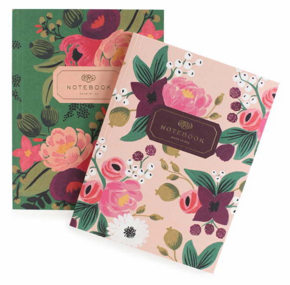 Vintage Blossoms Notebook Set - Notizbuecher