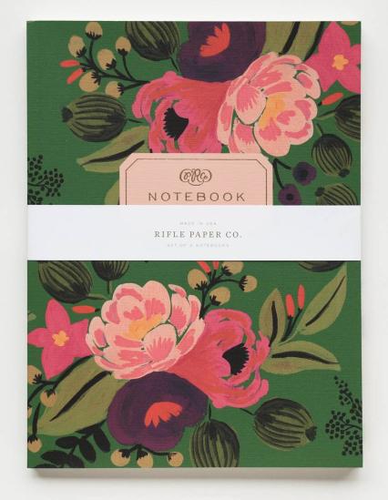 Vintage Blossoms Notebook Set 2