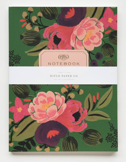 Vintage Blossoms Notebook Set - 2