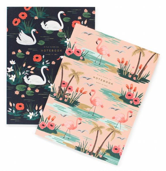 Birds of a Feather Notebook Set - 2 Notizbücher - 1