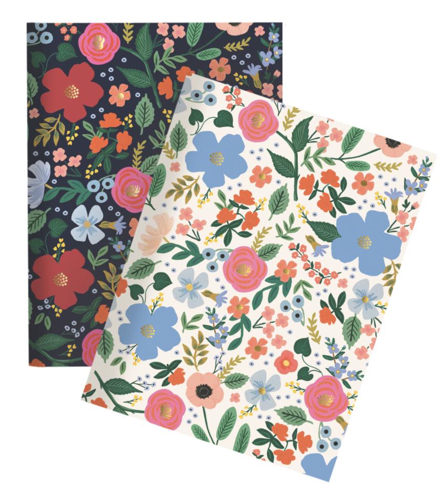 Wild Rose Pocket Notebooks