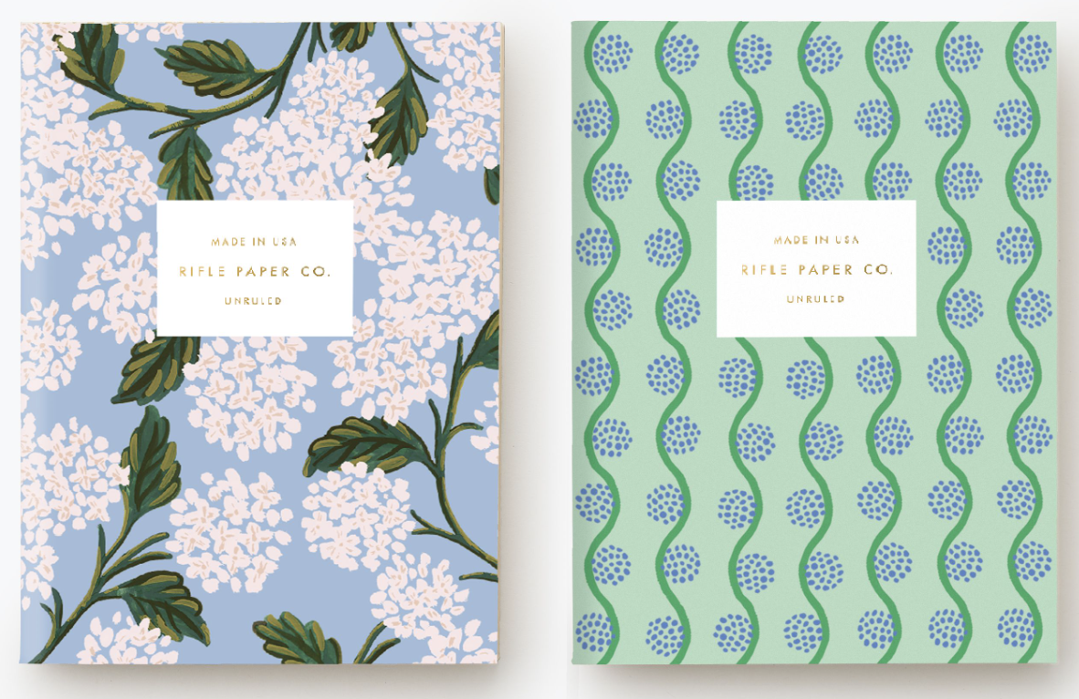 Hydrangea Pocket Notebook Set 2