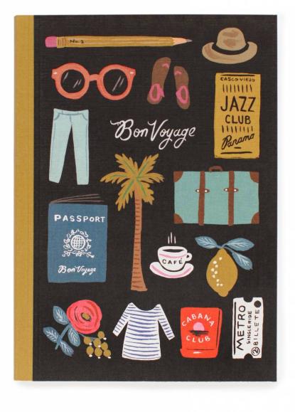 Travel Essentials Journal - Notizbuch