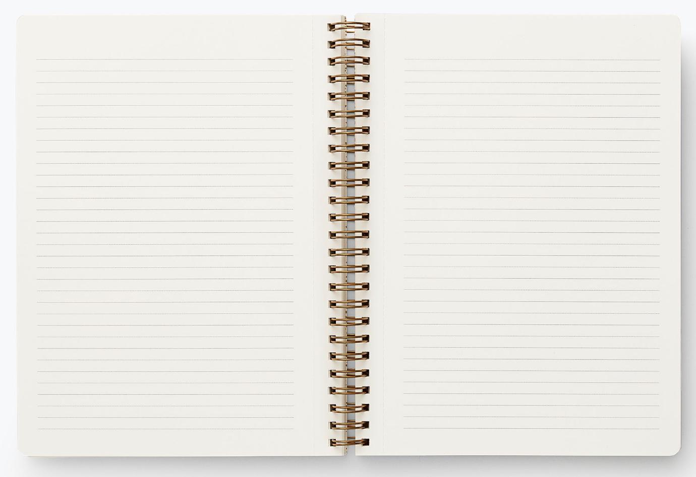 Poppy Botanical Spiral Notebook 2