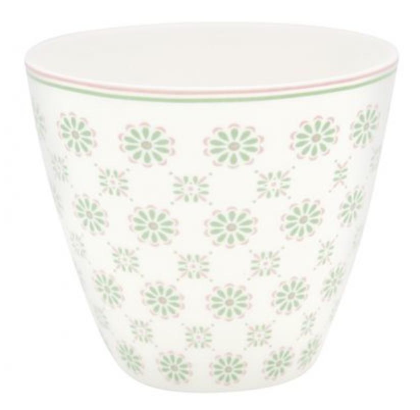Latte Cup Mila White