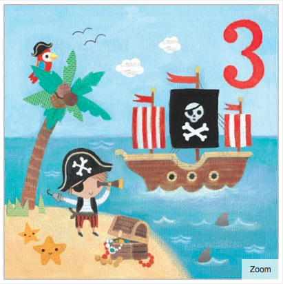 Ahoy There Card - 1