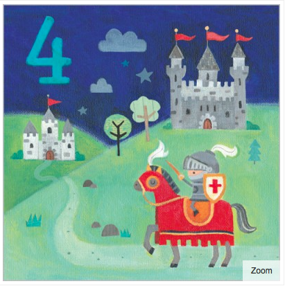 A Knight s Tale Card - 1
