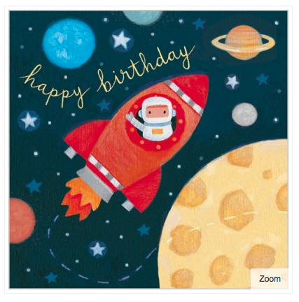 Outer Space Card - 1
