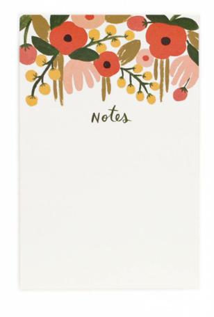 Hanging Garden Notepad - Notizblock