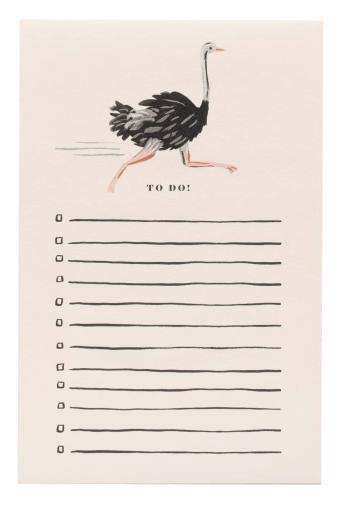 Ostrich Notepad - Notizblock