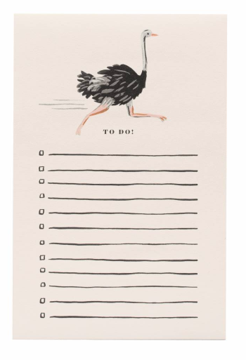 Ostrich Notepad
