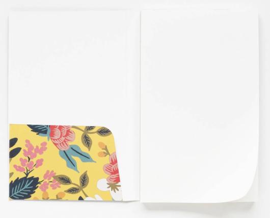 Birch Floral Pocket Notepad 2