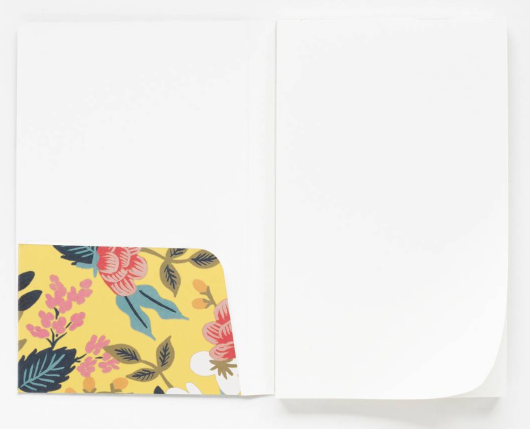 Birch Floral Pocket Notepad