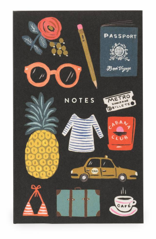 Bon Voyage Pocket Notepad