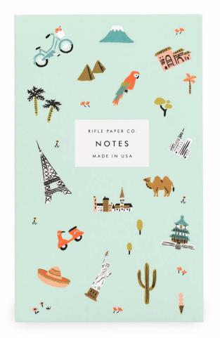 Wanderlust Pocket Notepad - 1