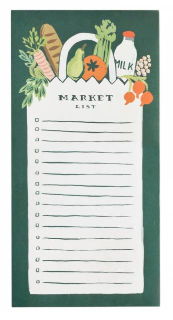 Market Magnet Notizblock