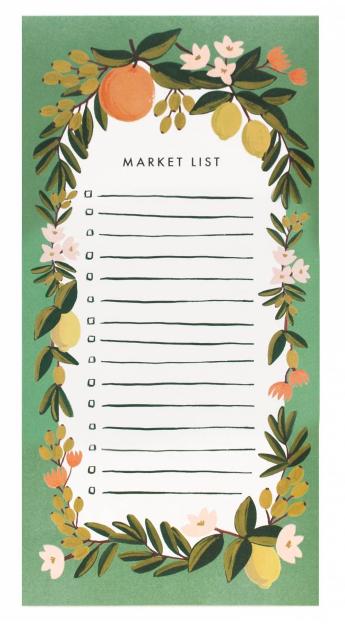 Citrus Floral - Julep Market Pad - 1