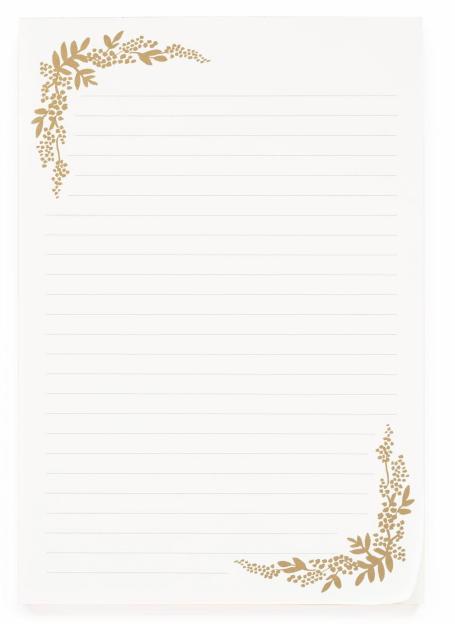 Mint Floral Birch Briefblock 3