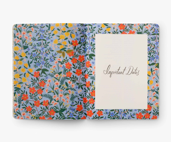 2022 Wildwood Appointment Notebook 3