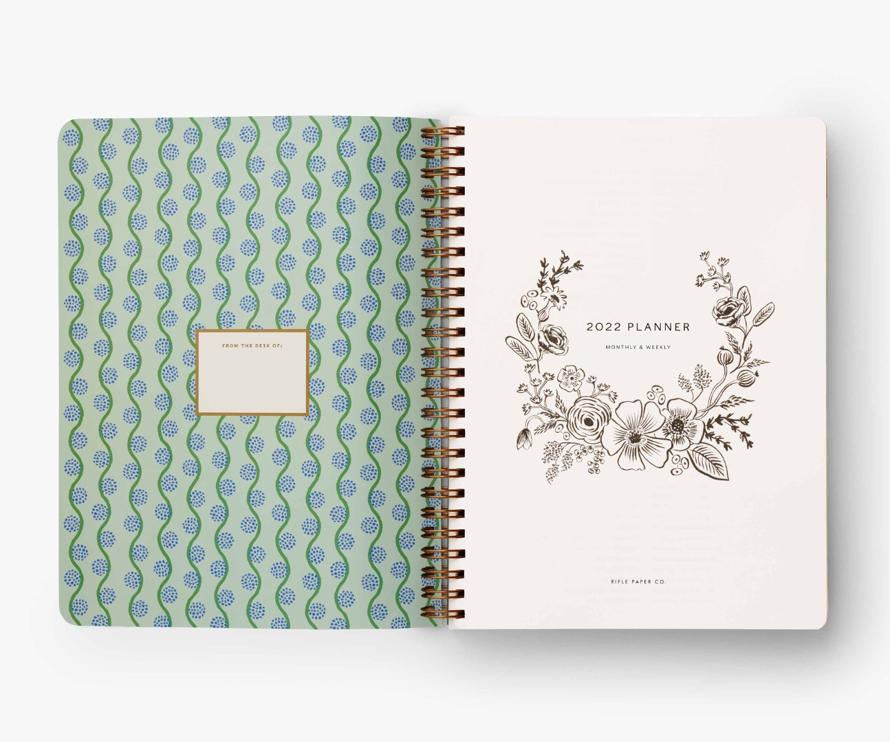 2022 Dovecote Softcover Spiral Planner 2