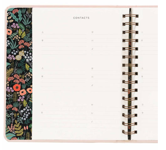 Bouquet Covered Planner - 12
