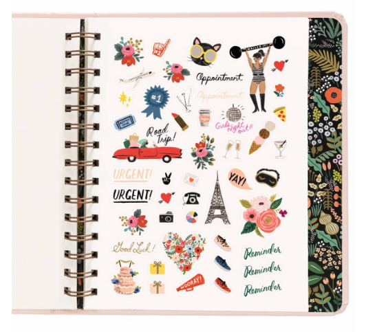 Bouquet Covered Planner - 13