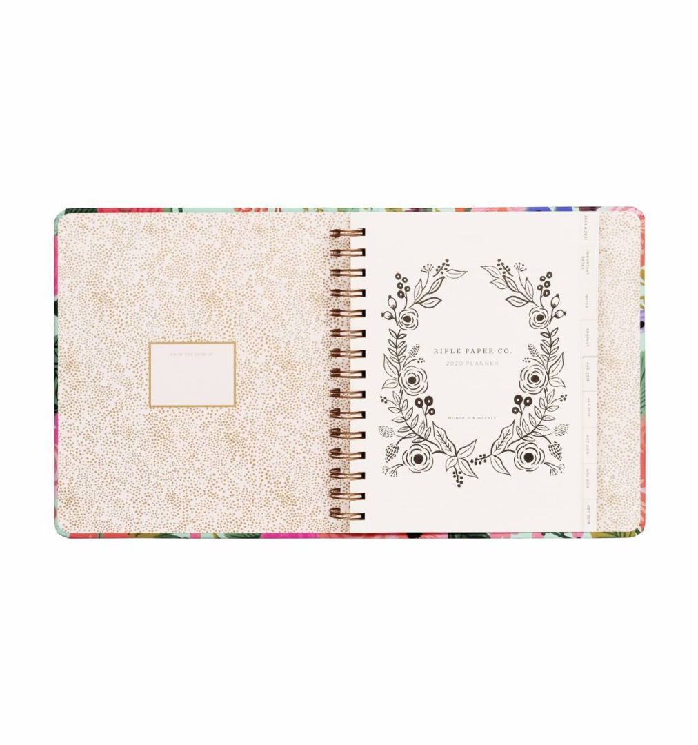 2020 Garden Party Covered Planner 2