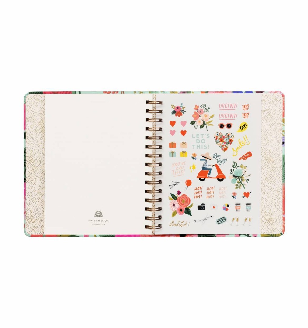 2020 Garden Party Covered Planner - 8