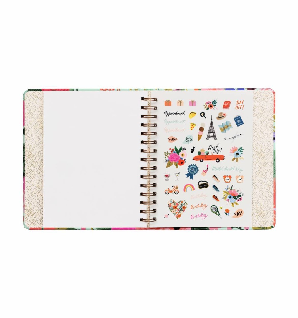 2020 Garden Party Covered Planner 9
