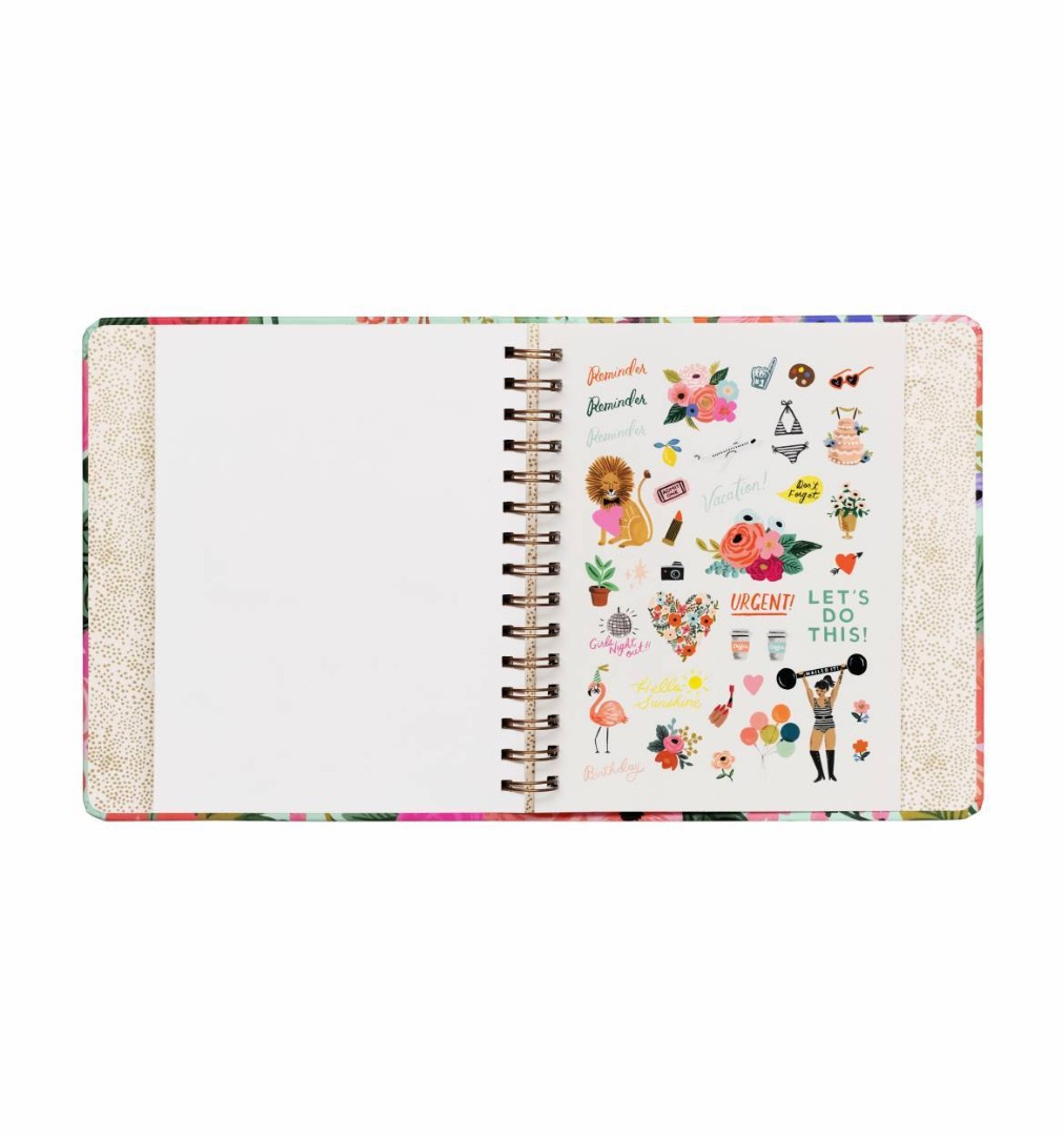 2020 Garden Party Covered Planner - 10