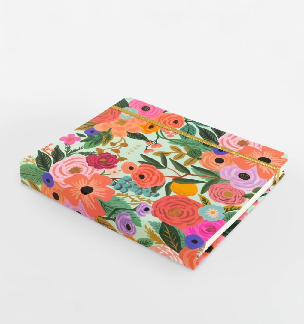 2020 Garden Party Covered Planner 12