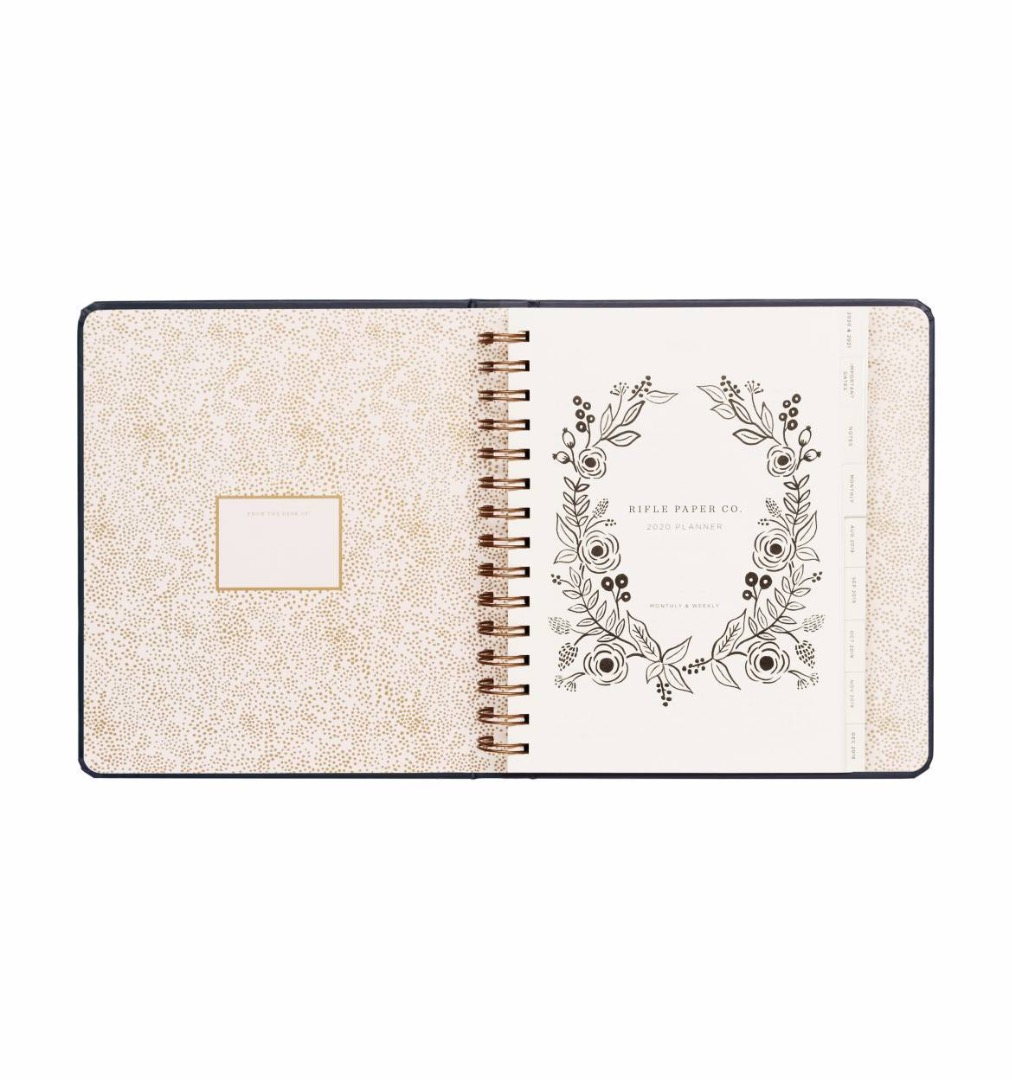 2020 Wild Rose Covered Planner - 2