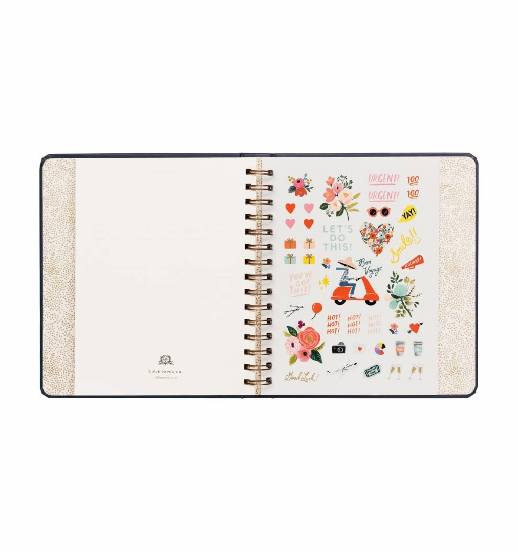 2020 Wild Rose Covered Planner 8