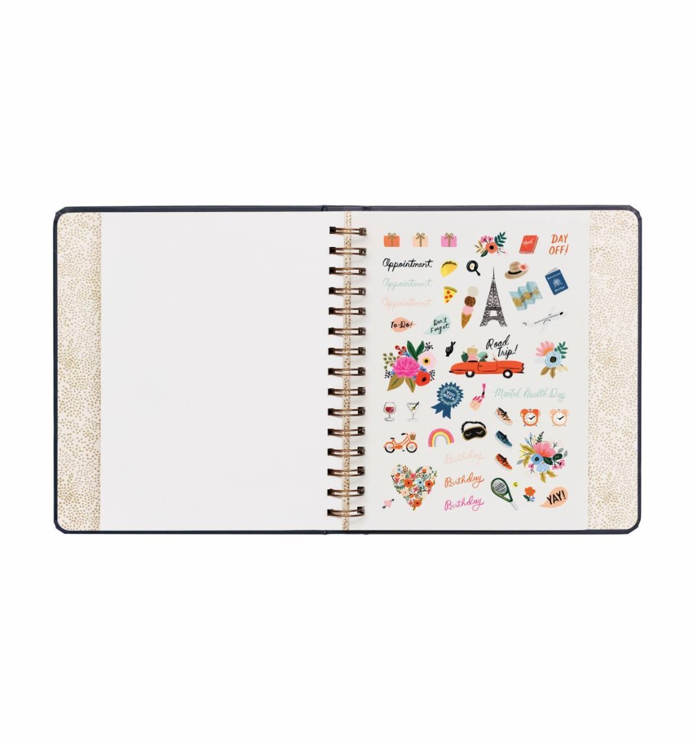 2020 Wild Rose Covered Planner 9