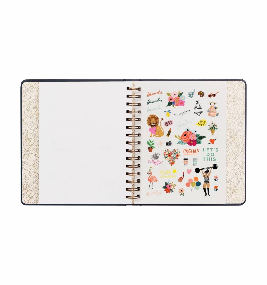 2020 Wild Rose Covered Planner 10
