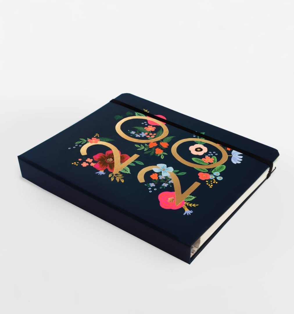 2020 Wild Rose Covered Planner 12