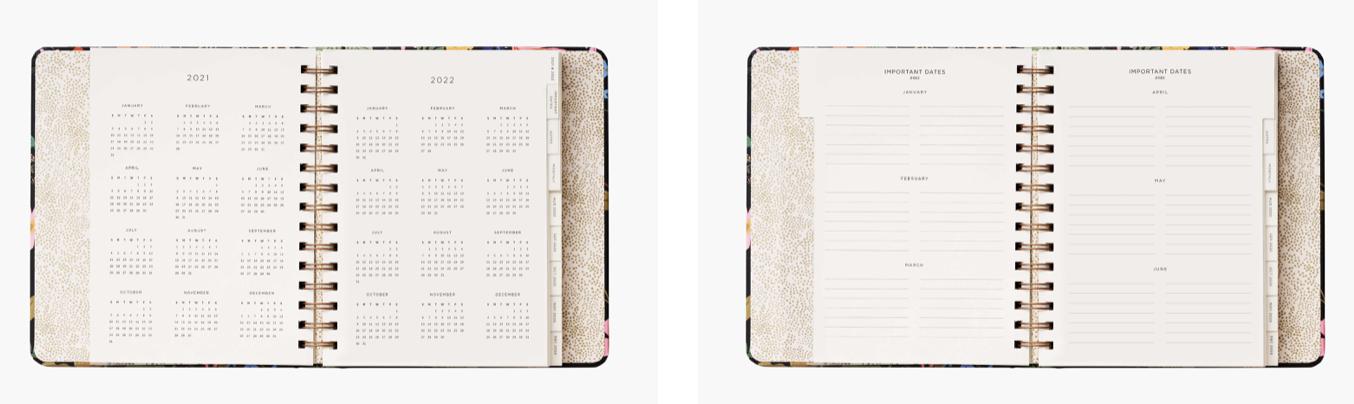 2021 Strawberry Covered Planner 3