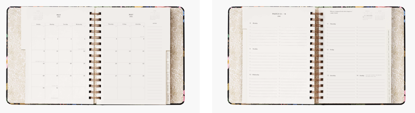 2021 Strawberry Covered Planner 4