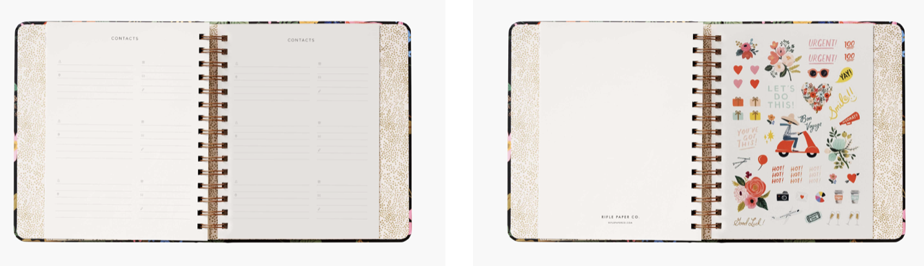 Strawberry Fields Covered Planner 5
