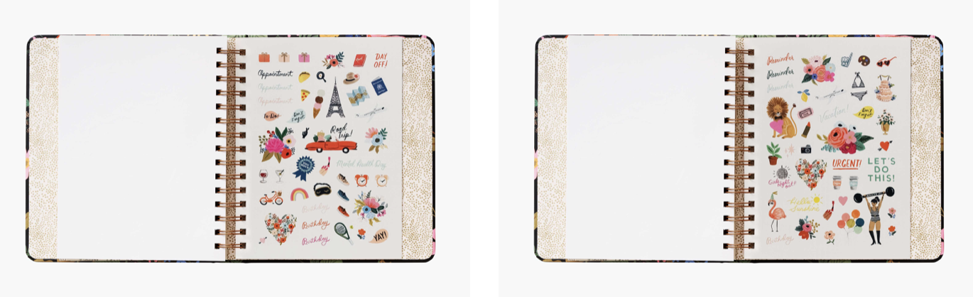 2021 Strawberry Covered Planner 6