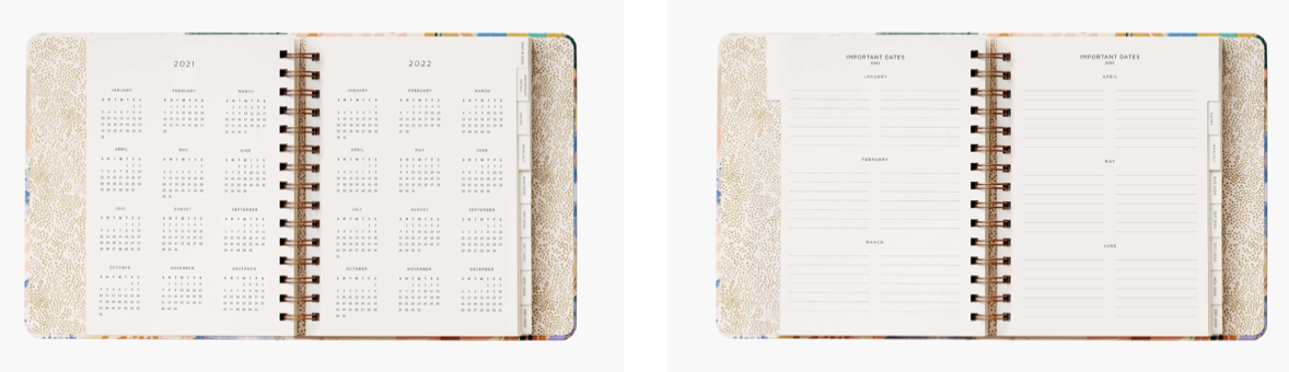 Luisa Covered Planner 3