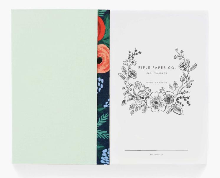 2021 Flower Crown Pocket Agenda 2