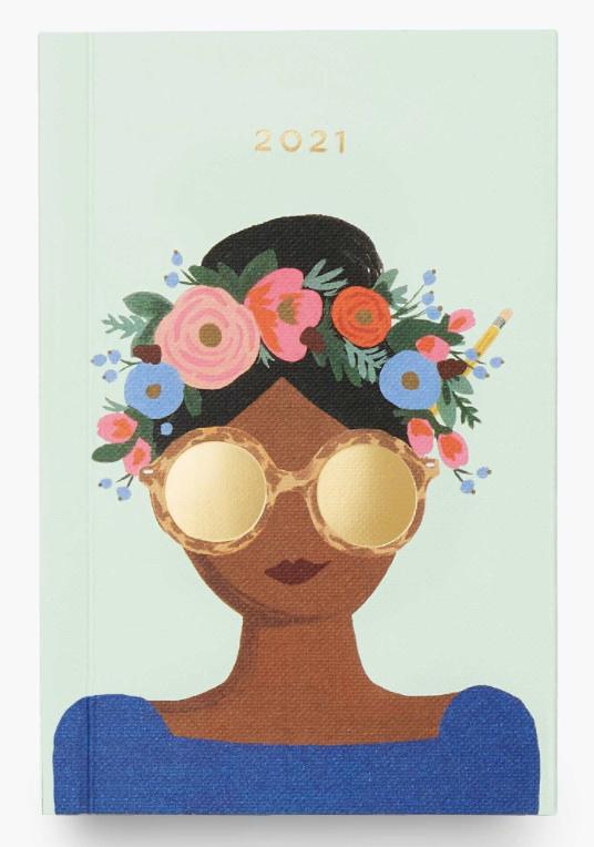 2021 Flower Crown Pocket Agenda