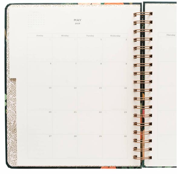 2018 Lively Floral Planner 7